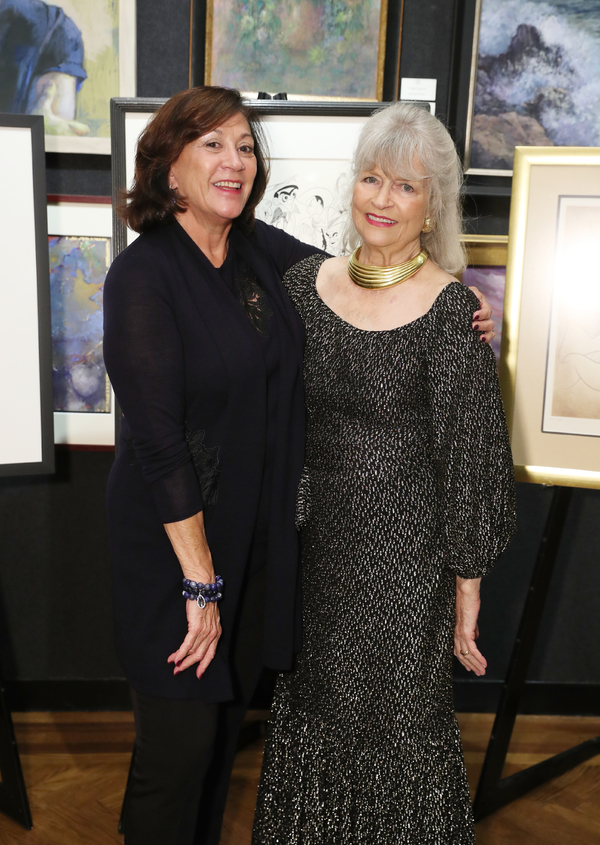 Foundation President Lynn Surry and Louise Hirschfeld Cullman