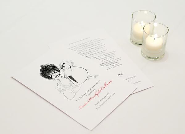 The Al Hirschfeld Foundation celebrates Louise Hirschfeld Cullman