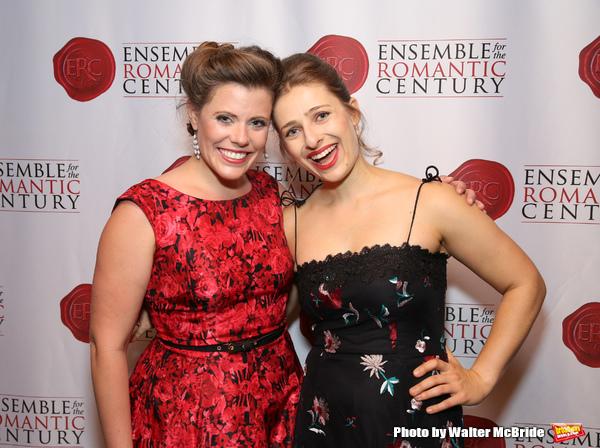 Kristina Bachrach and Victoria Lewis