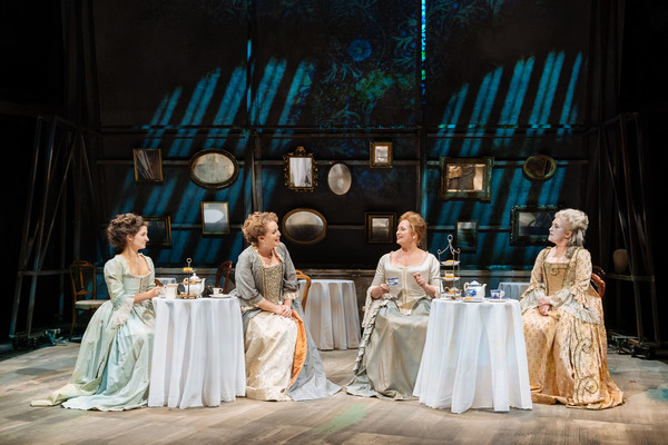 Ruby Bentall, Emma Cunniffe, Susannah Harker, and Sylvestra Le Touzel