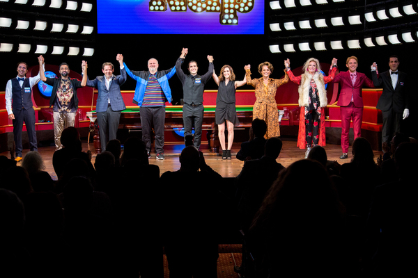 Photo Coverage: THE NAP Cast Takes Opening Night Bows!