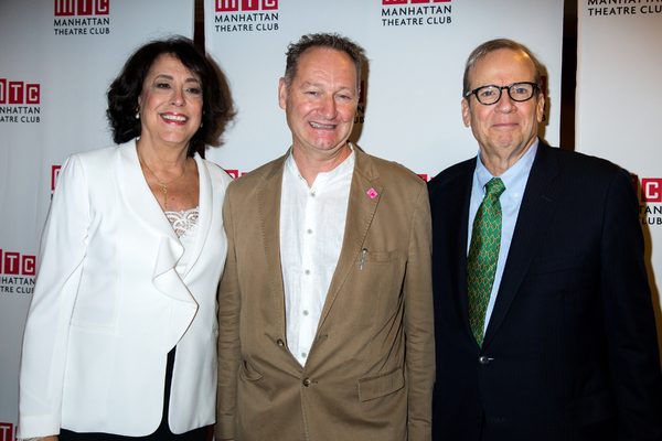Lynne Meadow, Richard Bean, Barry Grove