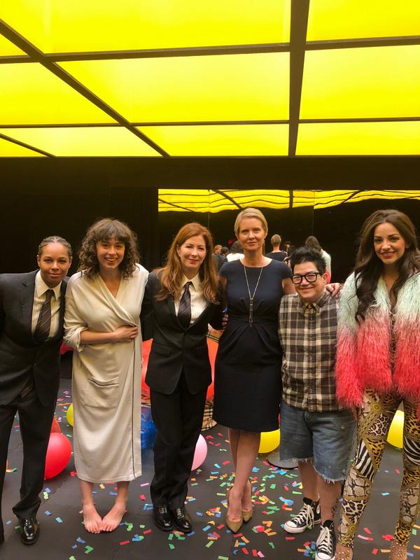 Chaunte Wayans, Adina Verson, Dana Delany, Cynthia Nixon, Lea DeLaria and Ana Villafane