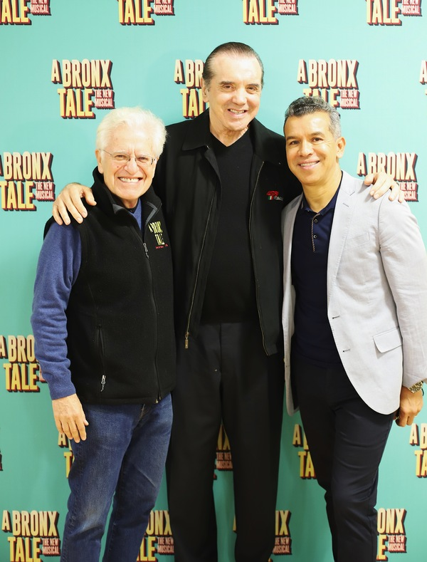 Jerry Zaks, Chazz Palminteri, and Sergio Trujillo Photo