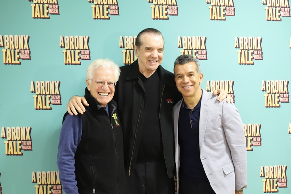 Jerry Zaks, Chazz Palminteri, and Sergio Trujillo