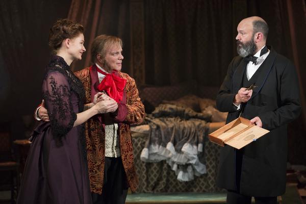 Claire Brownell, Eddie Korbich, Geoffrey Cantor Photo