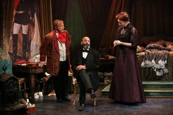 Eddie Korbich, Geoffrey Cantor, Claire Brownell Photo