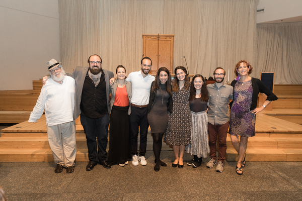 Photo Flash: FIDDLER ON THE ROOF in Yiddish Stops By Sing For Your Seniors