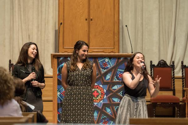 Stephanie Lynn Mason, Rachel Zatcoff, Rosie Joneddy Photo