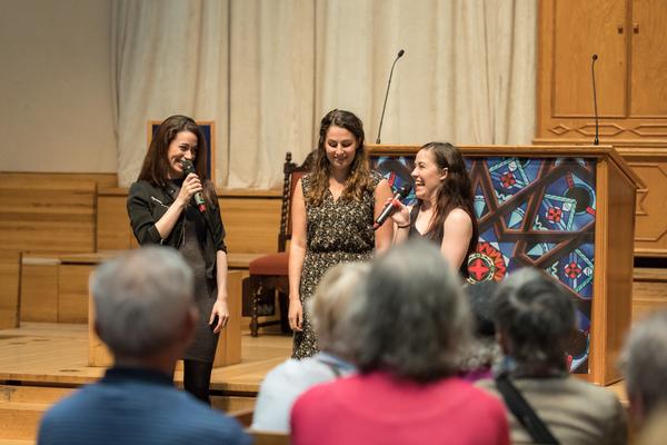 Stephanie Lynn Mason, Rachel Zatcoff, Rosie Joneddy