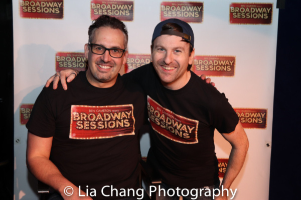 Broadway Sessions host Ben Cameron and Music Director Joshua Stephen Kartes
