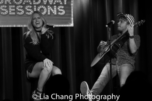 Photos: Broadway Sessions Was GETTIN' THE BAND BACK TOGETHER With Cast Members Garth Kravits, Mitchell Jarvis, Becca Kötte, and More!
