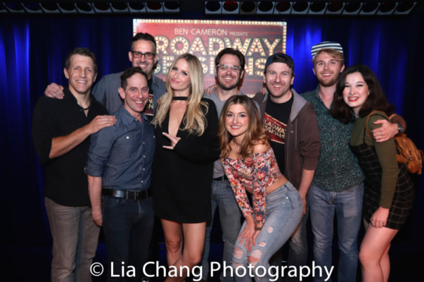 The cast of Gettin' the Band Back Together with host Ben Cameron and Joshua Stephen Kartes