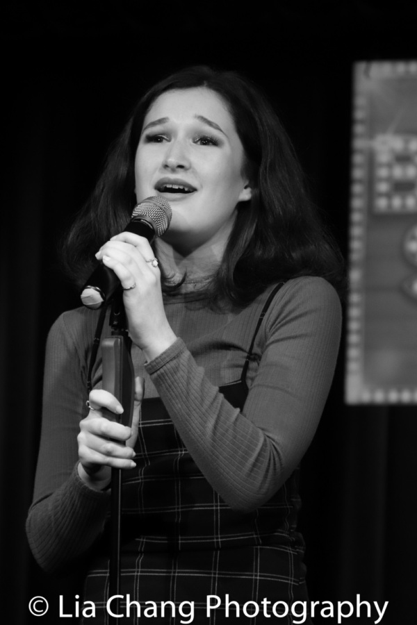 Noa Solorio sings 'Used to Be Mine' from Waitress Photo