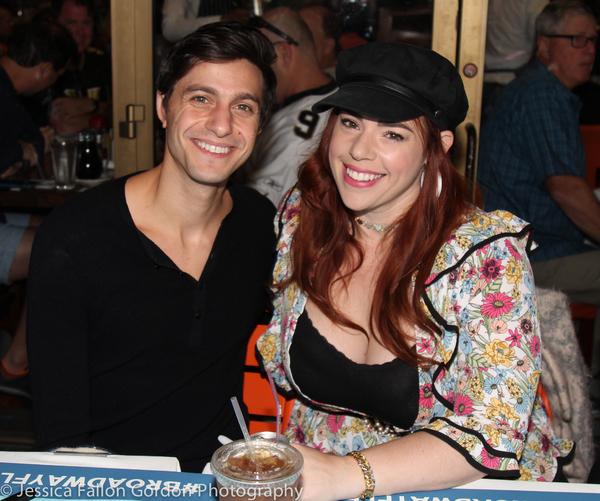 Gideon Glick and Alysha Umphress