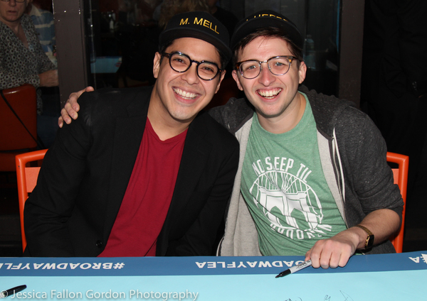 George Salazar and Will Roland