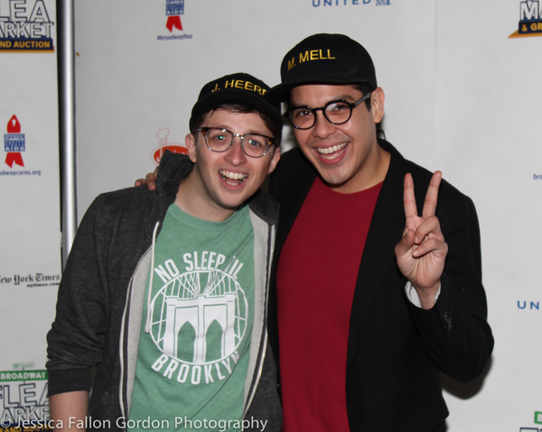 Will Roland and George Salazar
