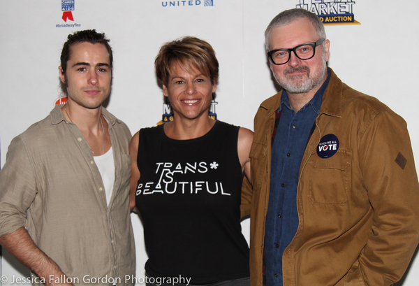 Ben Schnetzer, Alexandra Billings, and John Ellison Conlee Photo