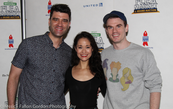 Ben Crawford, Ali Ewoldt, and Jay Armstrong Johnson