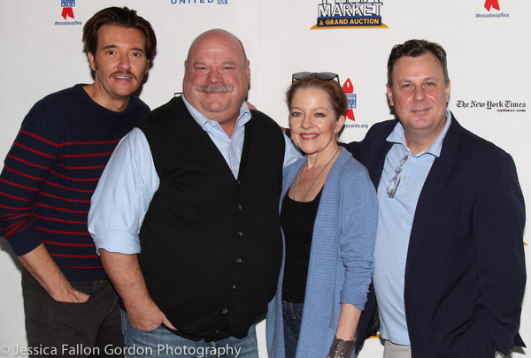 Jason Butler Harner, Kevin Chamberlin, Isabel Keating, and Brooks Ashmanskas Photo
