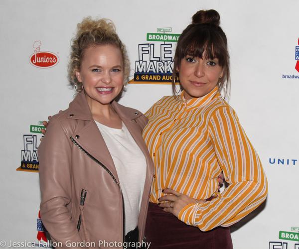 Amanda Jane Cooper and Jessica Vosk