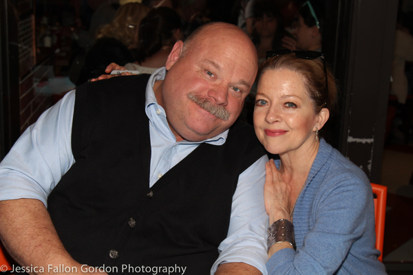 Kevin Chamberlin and Isabel Keating Photo