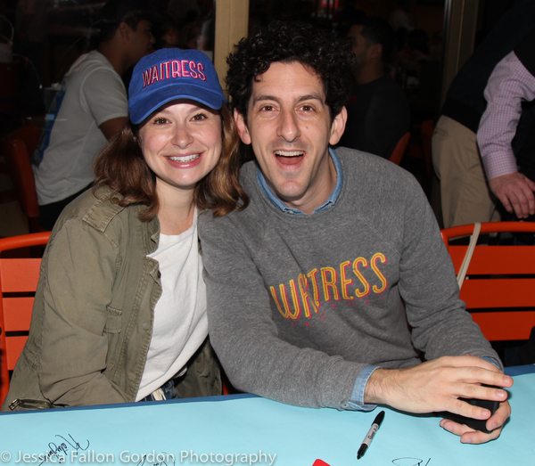 Katie Lowes and Adam Shapiro