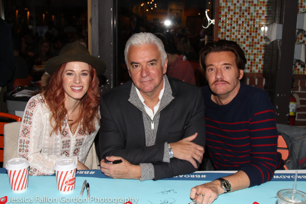 Teal Wicks, John O'Hurley, and Jason Butler Harner Photo
