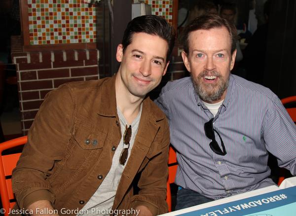 Alex Mandell and Dylan Baker Photo