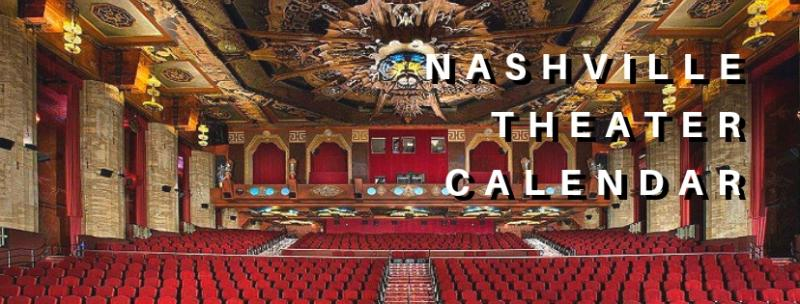 SAVE THE DATE: Nashville Theater Calendar for October 1, 2018