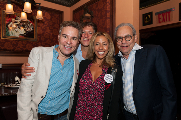 Richard Samson, Amanda Green, Lewis Black  Photo