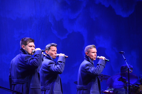 Emmet Cahill, Ryan Kelly and Neil Byrne