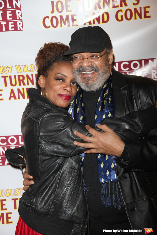 """Afton C. Williamson & Roger Robinson attending the Opening Night Performance After Party for the Lincoln Center Theater's Production of August Wilson's """"JOE TURNER'S COME AND GONE"""" at the Millenium Hotel  in New York City. April 16, 2009"""