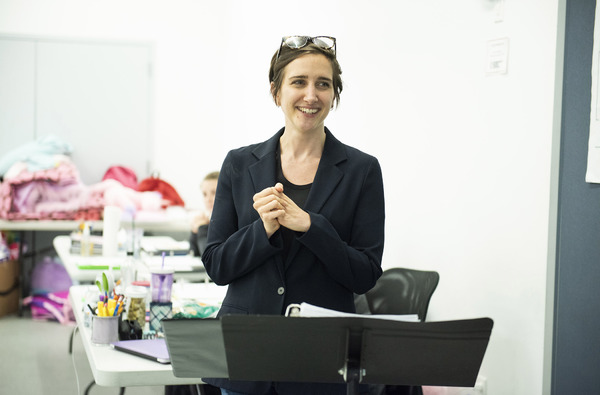 Photo Flash: In Rehearsal with Roundabout's USUAL GIRLS
