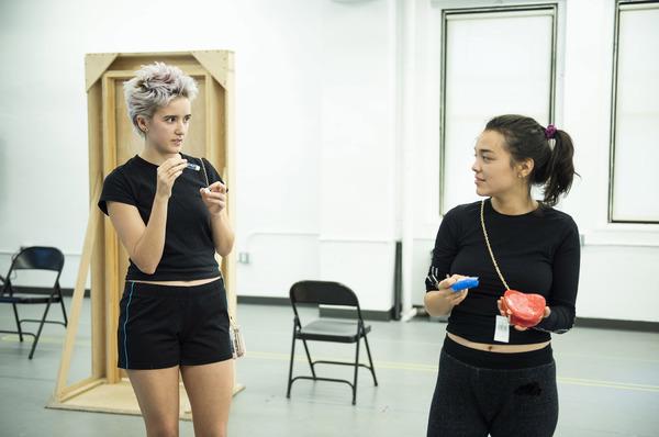 Abby Corrigan and Midori Francis