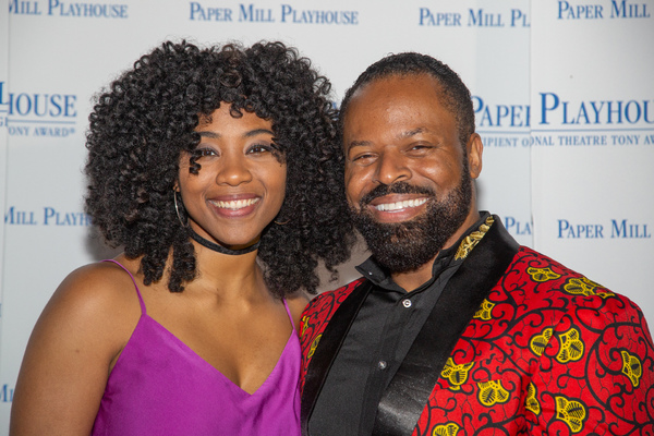 Photo Flash: THE COLOR PURPLE Celebrates Opening Night at Paper Mill