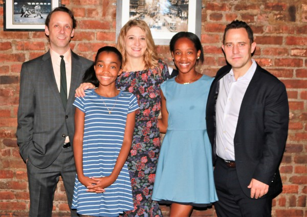 Mike Iveson, Rosdely Ciprian, Heidi Schreck, Thirsday Williams and Oliver Butler