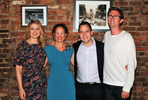 Heidi Schreck, Maria Striar, Oliver Butler and Michael Bulger