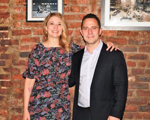 Heidi Schreck and Oliver Butler