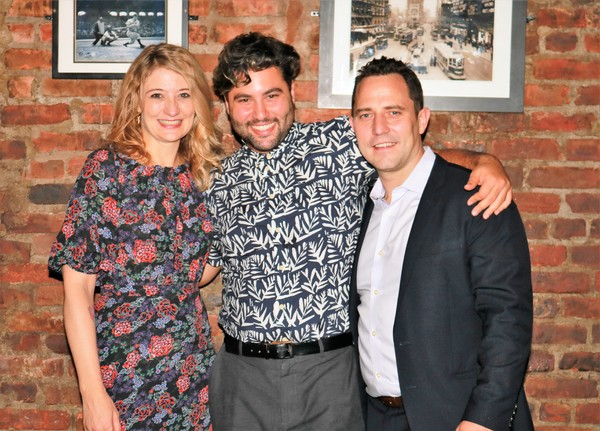 Heidi Schreck, Sinan Zafar and Oliver Butler Photo