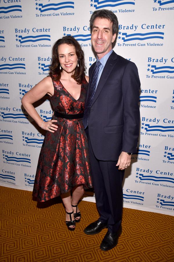 Georgia Stitt and Composer Jason Robert Brown