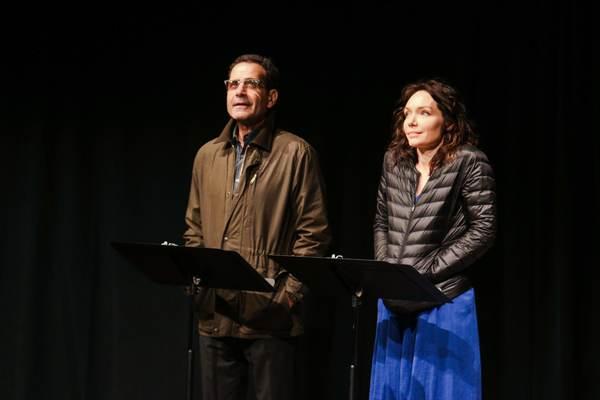 Tony Shalhoub, Katrina Lenk