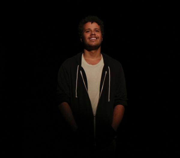 Paul (Luke Halpern) in A Chorus Line at Metropolis Performing Arts Centre