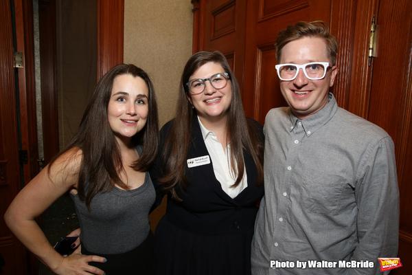Lauren Worsham, Rachel Routh and Kyle Jarrow