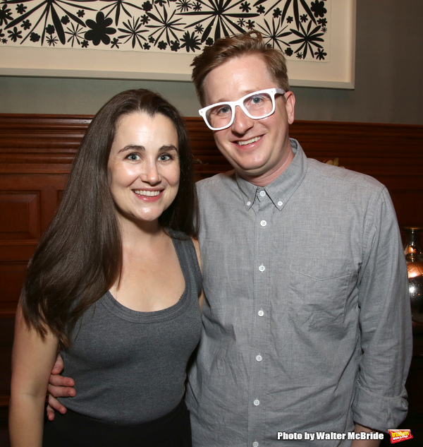 Lauren Worsham and Kyle Jarrow