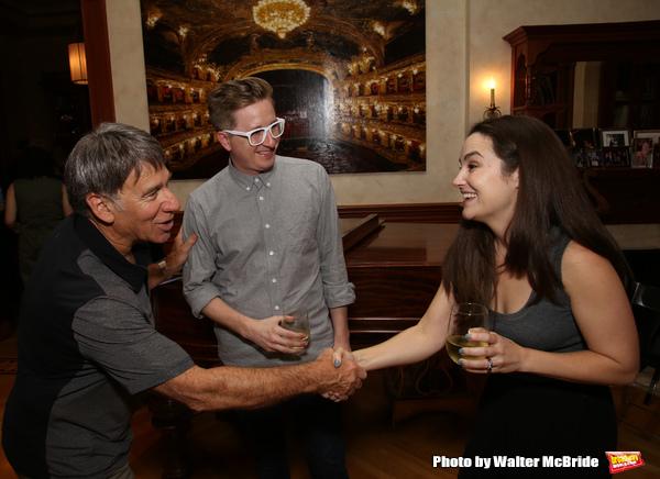 Stephen Schwartz, Kyle Jarrow and Lauren Worsham
