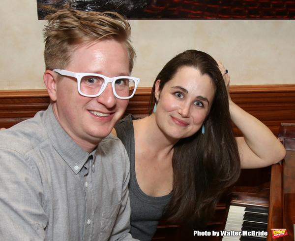 Kyle Jarrow and Lauren Worsham