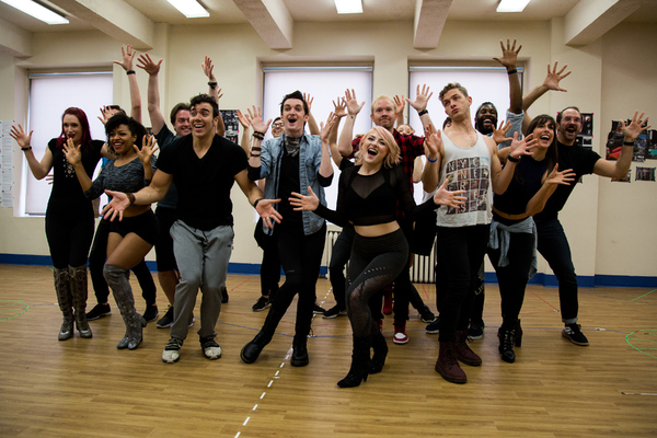Photo Coverage: ROCK OF AGES 10th Anniversary Tour Gets Ready to Hit the Road!