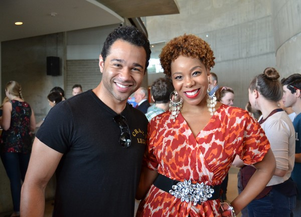 Corbin Bleu (Billy Crocker) and Soara-Joye Ross (Reno Sweeney)
