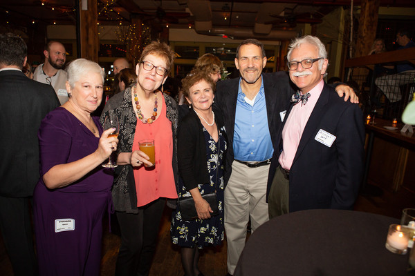 ATPAM members (l. to r.)  Stephanie Wallis, Laurel Ann Wilson, Maury Collins, Mitchell Weiss and Maury's husband Michael Dorf.